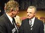 "Mal ""Bluey"" Fergusson with the Leader of the Opposition, Dr Brendan Nelson."